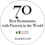 logo 70 best restaurant with pizzeria